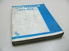 NISSAN DATSUN b11 & n12 Workshop Manual Workshopmanual Werkstatthandbuch