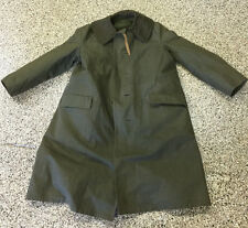 1950s Vintage (Dutch) Amsterdam Holland Military Winter Field Lined Overcoat