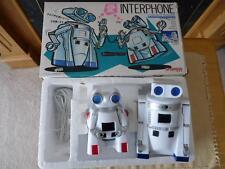 NIB Bandai Popy Interphone Intercom Apogee Perigee Robot Hong Kong Japan Writing