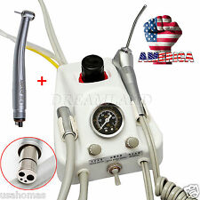 USA# Dental Portable Turbine Delivery Unit 4 H Tube & High Speed Handpiece D&I