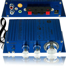 200W 12V Hi-Fi Booster Stereo Radio Amplifier Preamps MP3 for Car Motorcycle USA