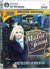 MOTOR TOWN SOUL OF THE MACHINE Deluxe Edition Hidden Object PC Game DVD-ROM NEW