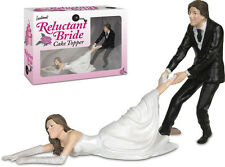 Funny Bridal Wedding Cake Topper~Reluctant Bride~Great for Bachelorette Parties!