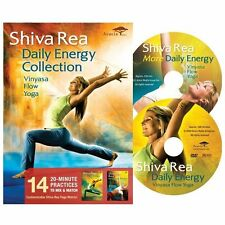 Shiva Rea: Daily Energy Collection (DVD) BRAND NEW SEALED SHIPS NEXT DAY AZ