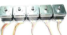 5 Nema 17 Japan Servo Stepper Motors 44oz/in  RepRap Makerbot Prusa 3D Printer