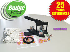 35mm Multipress Badge Making Machine with 250 buttons and circle cutter