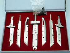 Final Fantasy FF7 VII Advent Children Cloud Assembled Blade Model 7 Swords new