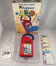 TEXAS INSTRUMENTS PROFESSOR A.B.C. Vintage Retro Alphabet teaching for children