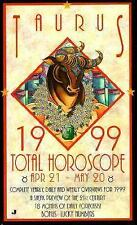 Total Horoscopes 1999: Taurus, , Astrology World, Very Good, 1998-07-01,