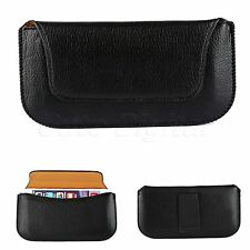 Men's Black PU Leather Case Cover Pouch Wallet Holder for 4.7 inch Apple iPhone6