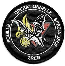 LEGION   GENIE  TROUPES de MONTAGNE   2°REG   FOUILLE OPERATIONNELLE SPECIALISEE