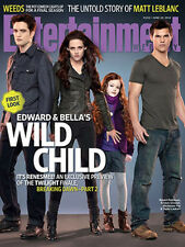 Entertainment Weekly June 2012 Breaking Dawn - Both Collector Covers