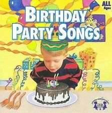 Birthday Party Songs Music CD 2000 by Twin Sisters