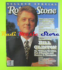 ROLLING STONE USA MAGAZINE 639/1992 Bill Clinton Eastwood MIchael Jackson No cd