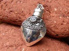 PRAYER/GHAU BOX PENDANT 925 SILVER BLUE TOPAZ SILVERANDSOUL JEWELLERY