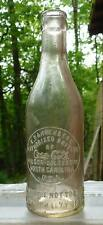 NORTH CAROLINA COCA COLA BOTTLE-Dannenberg-Wilson Goldsboro-Slug Plate-1910
