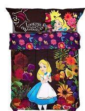 Disney Alice In Wonderland Dark Forest Microfiber Full/Queen Comforter NIP!