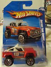 Hot Wheels Custom Ford Bronco HW Racing Red