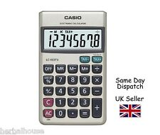 CASIO LC403TV Electronic Calculator -EXTRA Large Display - Including Wallet-case