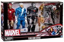 Marvel Titan Hero Series 12 Action Figure 3-Pack [Iron Man, Quicksilver & War