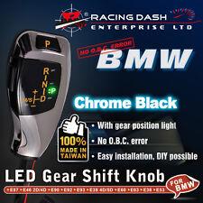 BMW LED Shift Gear Knob E38 E53 E60 E63 E90 gear position light Chrome Black