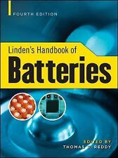Linden's Handbook of Batteries, 4th Edition by Reddy, Thomas