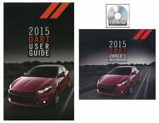 2015 Dodge Dart User Guide plus Owners Manual DVD Operator Book Fuses