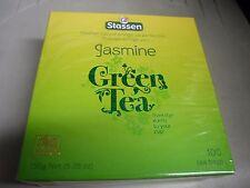 6 Box New Stassen Pure Jasmine Green Tea 100 Tea Bags Quality #1 FREE SHIPPING