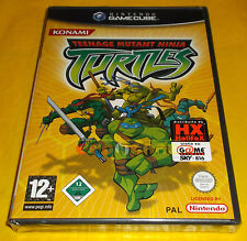 TEENAGE MUTANT NINJA TURTLES (TMNT) GameCube Versione Italiana ○○○○○ NUOVO