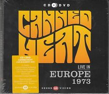 Canned Heat - Live In Europe 1973, CD + DVD Neu