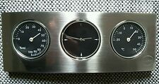 NEW JOHN LEWIS DESK CLOCK WITH BAROMETER AND THERMOMETER