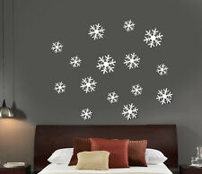 Home Decoration Snowflake Pattern Acrylic Mirror Wall Decal Art Stickers Decals