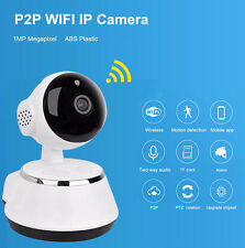 TELECAMERA IP CAMERA HD 720P WIRELESS LED IP CAM  MOTORIZZATA WIFI P2P