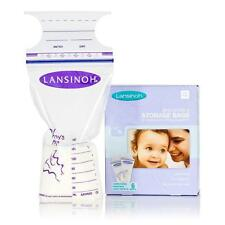 Lansinoh Breast Milk Breastmilk Storage Bags Pack of 50 New