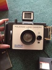 Polaroid Super Colorpack Instant Land Camera Vintage W/ Extra Attachment