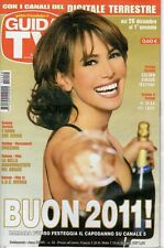 rivista GUIDA TV ANNO 2010 NUMERO 52 BARBARA D'URSO