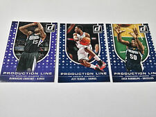 2014-15 Donruss Production Line Rebounds 3 NBA Cards Lot Cousins,Teague,Randolph