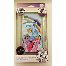 "My Little Pony Rainbow Friends"" iPhone 4/4S Case Cover Blue Fitted Brand New 4E"