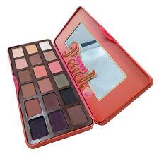 Peach 18-Color Palette Makeup Sweet Eyeshadow Waterproof Fragrance Mirror