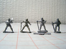 25mm Renaissance Foot Knights x 4 / Warhammer Empire Reiksguard x 4