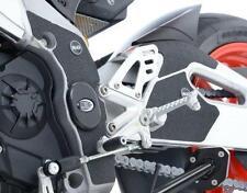 R&G BLACK BOOT GUARD KIT for APRILIA RSV4-RF, 2015 to 2016