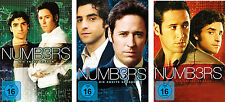 16 DVDs * NUMB3RS - STAFFEL / SEASON  1 - 3 IM SET ~ Numbers # NEU OVP +