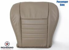 1999-2004 Ford Mustang GT V8-Passenger Bottom Replacement Leather Seat Cover Tan