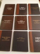 National Cash Register Manuals / Original Turn Of The Century / Lot Of 9