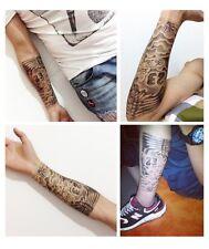 Temporary Tattoo Einmal Tattoo 20x10,8 Medium wasserfest Waterproof (HB-087)
