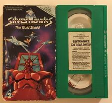 Silverhawks 2:The Gold Shield:VHS KLV-TV 1986 Hi Fi Stereo OOP Rare