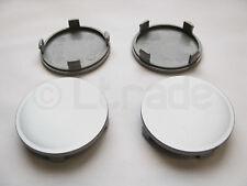 4x Nabenkappen Felgendeckel Nabendeckel Ø 65mm-62mm Silber Felgenkappen NEU