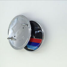 82mm+74mm Front Hood Trunk Real Emblem Decal Badge for BMW //M E36 E46 E60 E39