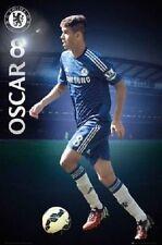 """Chelsea FC soccer poster 24x36"""" Oscar Premier League Football"""