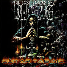 Danzig Guitar Tab THE LOST TRACKS OF DANZIG Lessons on Disc Misfits